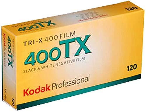 Kodak Pro Tri-X 400 Druckfolie, Schwarz & Weiß, 120 Druckfolien, Pro Pack 10/2020, 5 Stück
