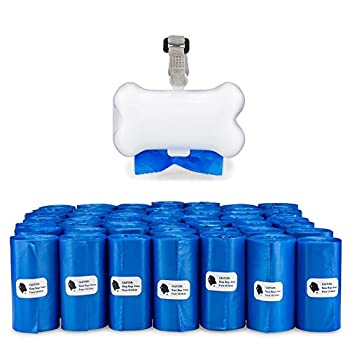 Gorilla Supply Dog Waste Bags with Patented Dispenser and Leash Tie Blue Unscented EPI Additive  meets ASTM D6954-04 Tier 1  1000 Count