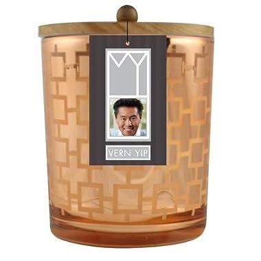 VY 10 oz Orange Square Trellis Sugared Chai