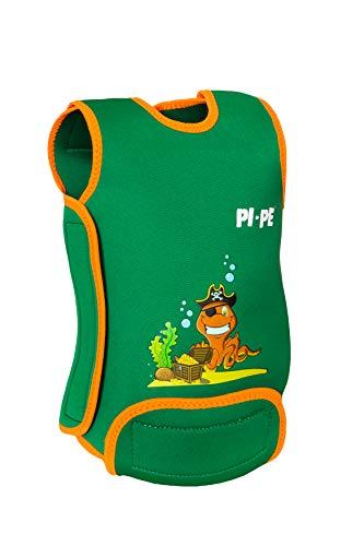 PI-PE Baby Warmer Neopren Schwimmanzug Green L (12-18 Monate)