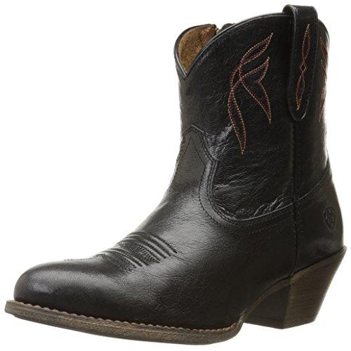 ARIAT womens Darlin Western Boot, Old Black, 5.5 US
