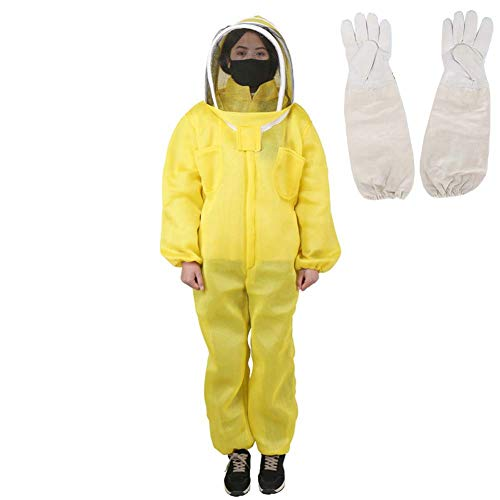 JXS-outdoor bijenteelt pak door bos bijenteelt, geschikt voor beginnende en commerciële imkers, Hd sluier 3D ademend katoen materiaal