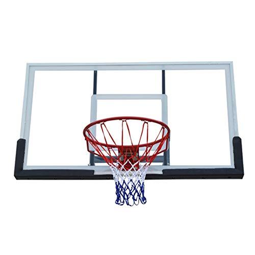 WENZHE Redes Aros Canasta De Baloncesto Tableros Portátiles De Baloncesto Adulto Interior Al Aire Libre Colgando Tablero De Baloncesto Canasta Anillo Diámetro 45cm