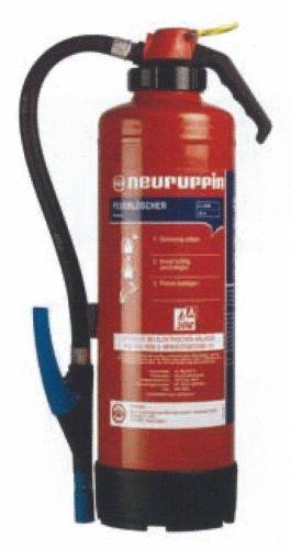 W6SKS Hochleistungs-Wasserlöscher FLN Neuruppin - 6 L Aufladelöscher 12LE Feuerlöscher
