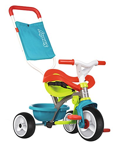 Smoby-Triciclo Be Move Confort, color azul, (740401)