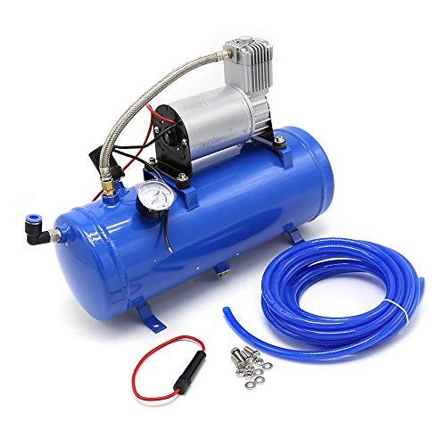 6L 150Psi 12V Luft Druckluft Kompressor tragbar Blau Für...