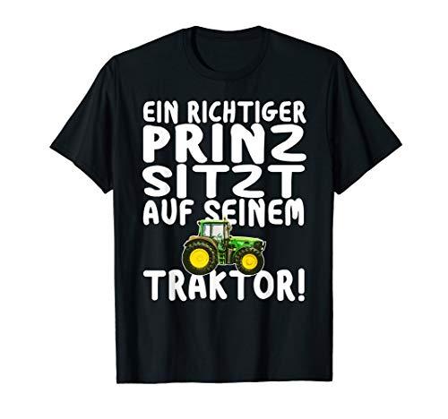 Prinz auf Traktor T-Shirt Schlepper Idee Trecker Jungs