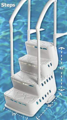 BiltMor Above Ground Step and Ladder System, Step Only