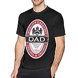 Fenmeegy Camiseta para Hombre del papá más Grande del Mundo-M