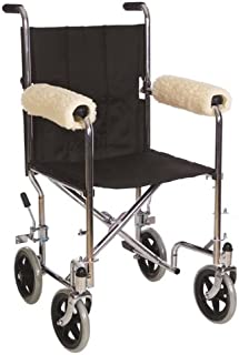Essential Medical Supply Sheepette Wheelchair Comfort Armrest Pads