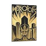 RUIFEN Metropolis Poster Science Fiction Leinwand Gemälde
