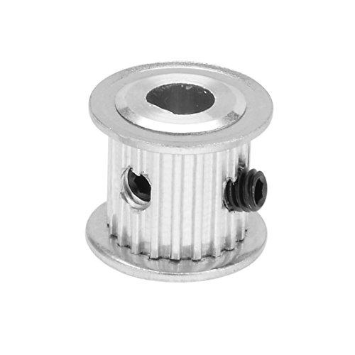 Aexit Aluminium MXL 20 Zähne 6mmx5mm D-Form Bohrloch 11mm Einstellscheibe Umlenkrolle (eee12ee6bdcd9ba3351ec66a1dc2bcf6)