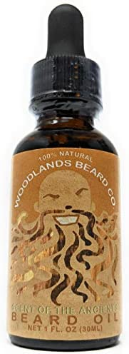 Woodlands Beard Co Scent of the Ancients Beard Oil Scented with Clove Lemon Eucalyptus Cinnamon product image