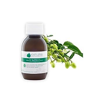 Huile végétale de Neem Naturelle & Pure à 100%. L'huile végétale de Neem est connue pour ses qualités remarquables et est utilisée en cosmétique dans différentes types de lotions contre les infections. L'huile végétale de Neem se présente comme une p...