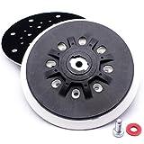 Disco abrasivo morbido/duro compatibile con Festool Ø 150 mm piatto di supporto per carta vetrata adatto per levigatrice eccentrica, Rotex RO1, ES150, ET2, ES/ETS 150