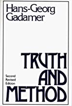 Truth and Method [TRUTH & METHOD REV/E 2/E] [Paperback]