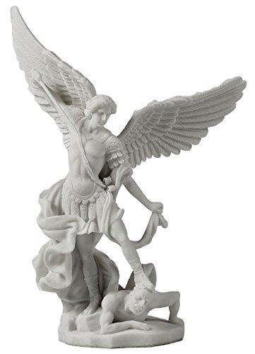 Jfsm Inc Statue, Schöner Heiliger Erzengel Michael, der den Dämon ermordert