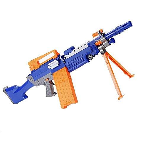 Brigamo Maschinengewehr Softdart Blaster, Elektrisches Dartblaster Gewehr, inkl. Schaumstoff Pfeile