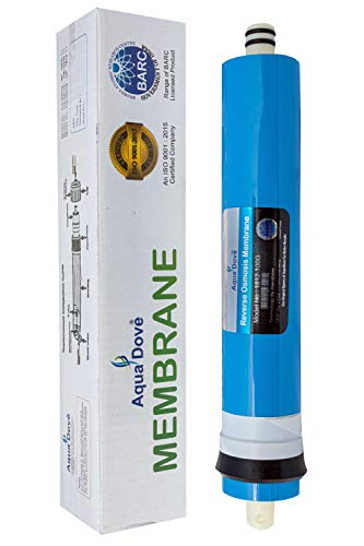 Aqua Dove RO Membrane for All Water Purifier 100 GPD - BARC Govt India Licensed Technology