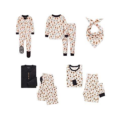 Burt's Bees Baby, Family Jammies, Matching Holiday Pajamas, Organic Cotton PJs, Reindeer, Mens, Large