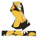 Sciarpa in pile morbido caldo collo caldo caldo collare cravatta soffice 3d stampato loto e libellula nello stagno sciarpe invernali per ragazze ragazzi e donne uomo