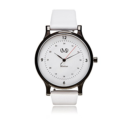 Martian mVip Kindred Analog Smartwatch with VIP Notifications and...