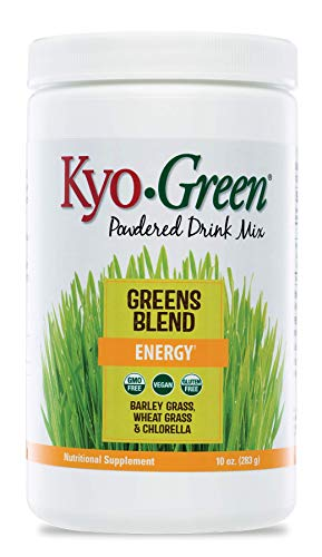 Kyo-Green Green Blends Energy Powered Drink Mix, 10 Ounce Bottle