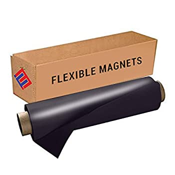 Flexible Vinyl Roll of Magnet Sheets - Black Super Strong & Ideal for Crafts - Commercial Inkjet Printable  2 ft x 3 ft