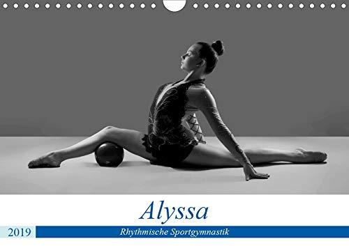 Rhythmisch Sportgymnastik - Alyssa (Wandkalender 2019 DIN A4 quer): Anmutige Posen in im Sport (Monatskalender, 14 Seiten ) (CALVENDO Orte)