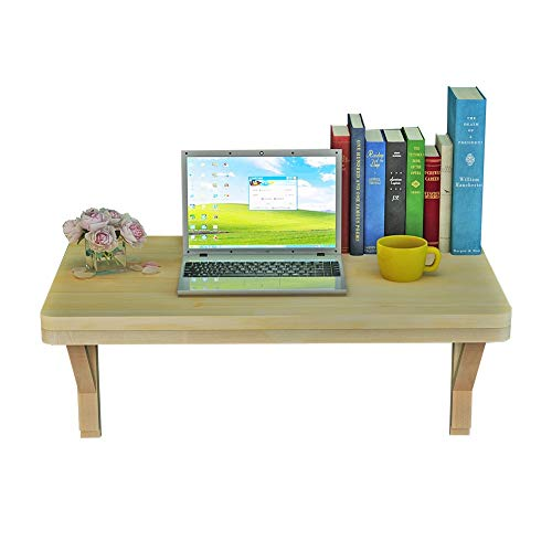 PENGFEI Tische Wandtisch Wand-Klapptisch Massivholz Küchenarbeitsplatte Kaffetisch Wohnzimmer Regal, 10 Größen (Farbe : A, größe : 100X50CM)