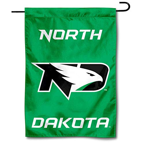 College Flags & Banners Co. North Dakota Fighting Hawks Garden Flag