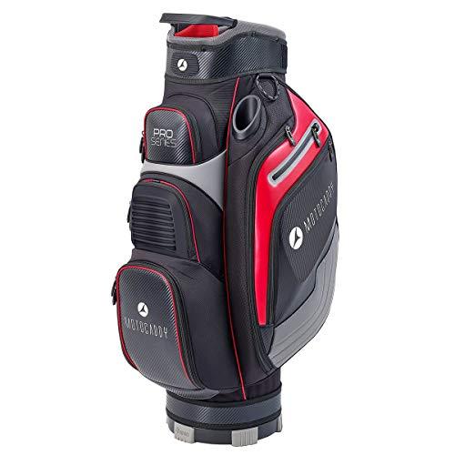 Motocaddy Nouveau Série Pro Sac de Golf - Noir/Rouge, OS