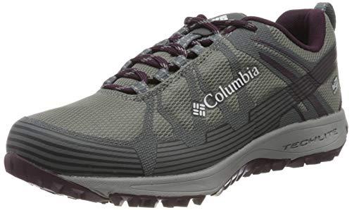 Columbia Conspiracy V Outdry, Zapatillas de Senderismo para Mujer, Gris (Monument, Black 036), 43 EU