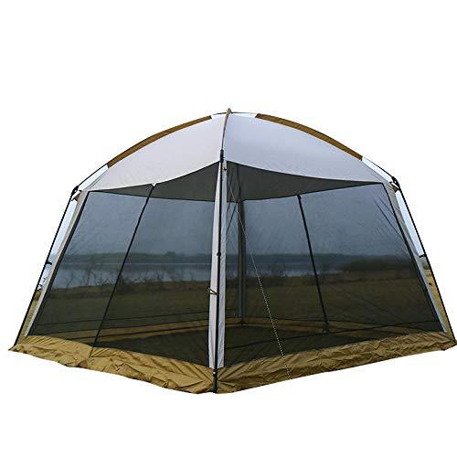 ASADVE Heckzelt Campingzelt Auto Zelt 3/4-5 Personen 3.3X2.4M Sonnenschutz Im Freien Moskito Zelt Outdoor Camping Tragbar Faltbar Großes Zelt Strandausflug