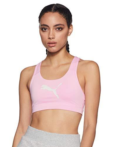 PUMA Damen 4Keeps Bra M Sport Bh 4Keeps Bra M, Rosa (Pale Pink), 36 (Herstellergröße: S)
