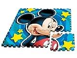 alfombra goma eva mickey