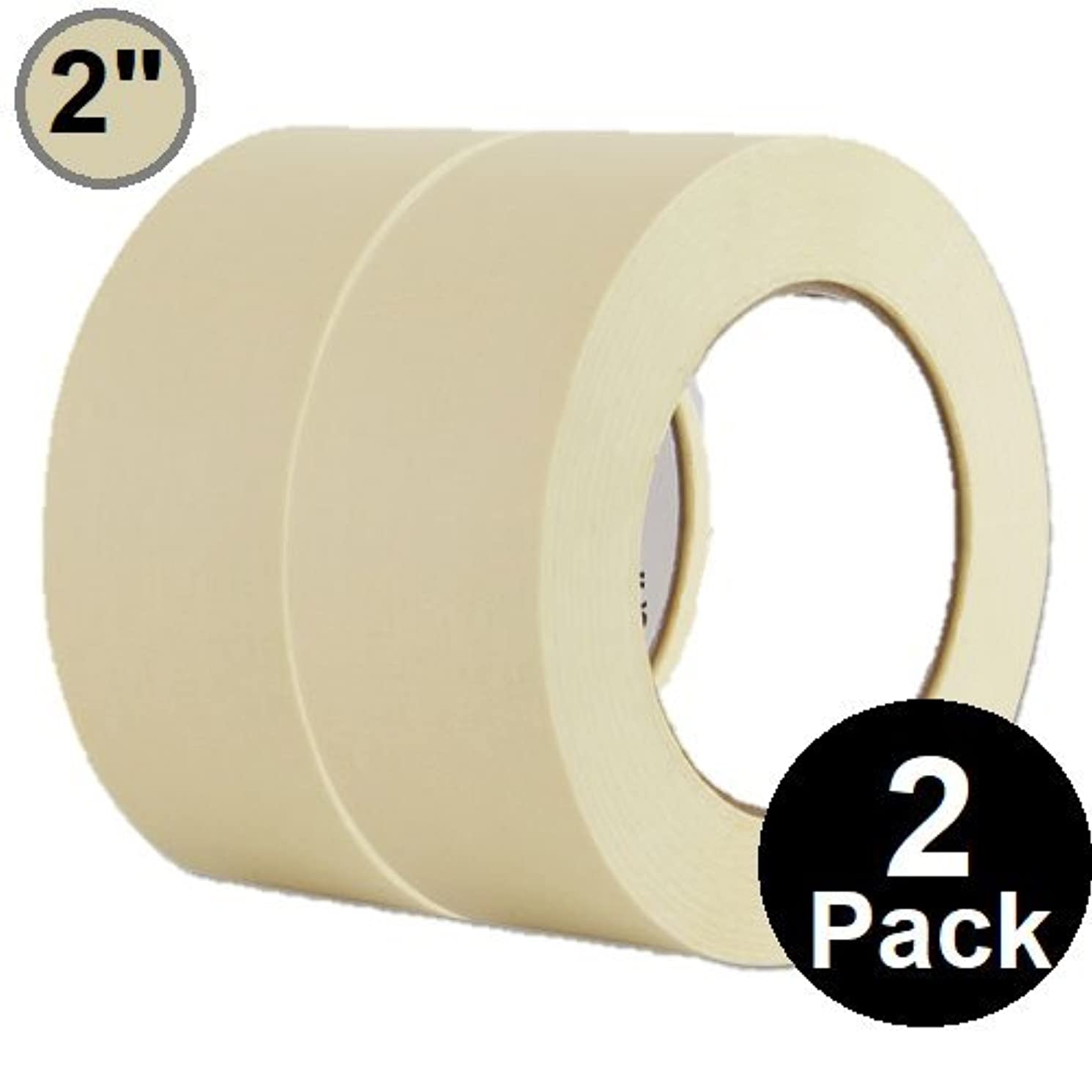 1InTheOffice General Purpose Masking Tape 2 inch x 60.1-Yards, 3