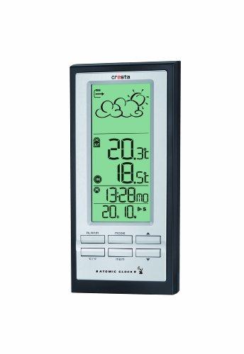 Cresta Wetterstation Funksensor, Doppelte Weckfunktion, Erweiterbar