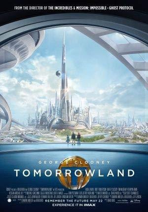 Tomorrowland – George Clooney – Film Poster Plakat Drucken Bild - 43.2 x 60.7cm Größe Grösse Filmplakat