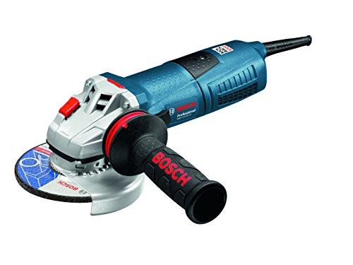Bosch Professional GWS 13-125 CI - Amoladora angular (1300 W, 11500 rpm, Ø Disco 125 mm, Antivibration, KickBack-Stop, en caja)