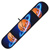 Lightning surrounds The Basketball Double Oven Mitts/Double Glove, Heat Resistant Oven Gloves Great for Cooking, Baking, Microwave and Handling Hot Pots