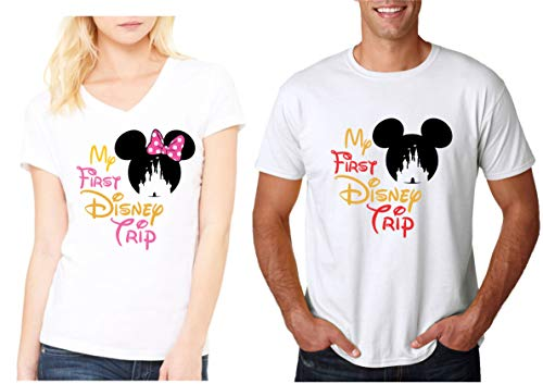 My First Disney Trip Family Vacation Matching Shirts