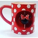 Disney Minnie Mouse Giratorio Taza Rojo Topos Té / Taza de Café Primark
