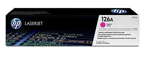 HP 126A (CE313A) Magenta Original Toner für HP Color Laserjet Pro CP1025, M175, TopShot Laserjet Pro M275
