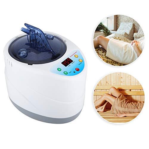 Saunadampfer, 4L intelligente Begasungsmaschine mit Fernbedienung, Saunazelt zu Hause Dampfer Spa Dampfgenerator für Weight Loss Detox Entspannung zu Hause