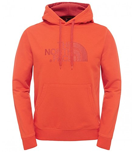 The North Face Dre Peak Sweat-Shirt à Capuche Homme, Fiery Rouge, FR : S (Taille Fabricant : S)