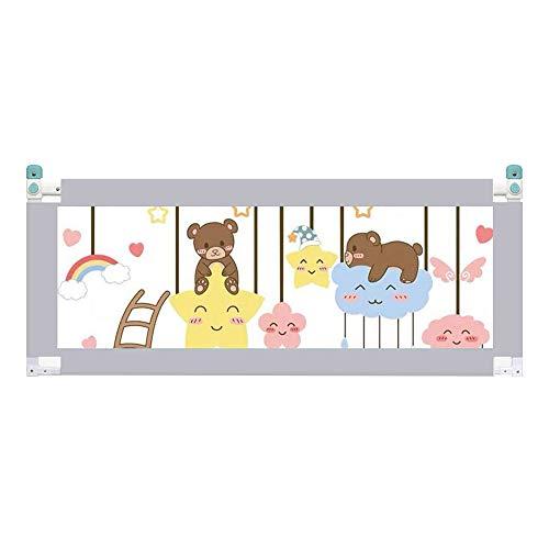 Bedrails HUO Bed Hek Baby Drop Guard 10 Niveaus Van Verstelbare Totale Hoogte 93CM Verticale Heffen Is Niet Bang Van Nachtkastjes