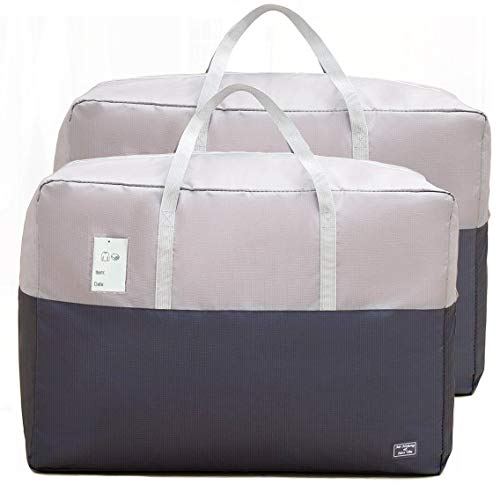 105L Bedding Storage Bags, Large Capacity Storage...