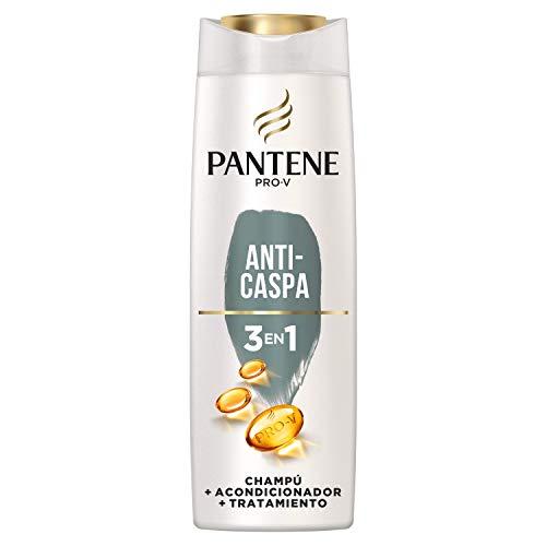 Pantene Pro-V Anti-Caspa Champú, Acondicionador y Tratamiento 3 en1, Deja el Pelo Increíblemente Limpio, 300 ml