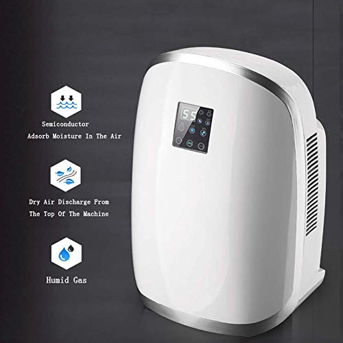 Best Review Of FWSY Home Electric Dehumidifier, Portable Dehumidifier for Home Bedroom 1700ml Capaci...